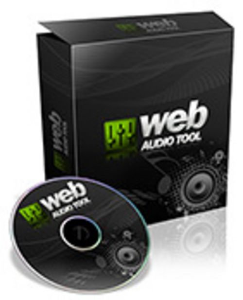 Product picture WebSite Audio Tool-Create Audio on Website Easily!